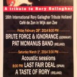 Rory Gallagher Tribute