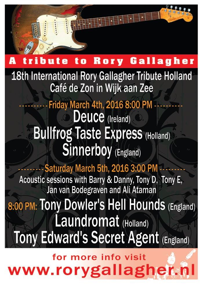 18e Rory Gallagher Tribute
